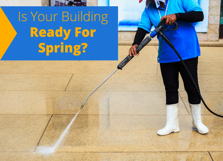 Is Your Building Ready for Spring? Get Clean Exteriors with Power Washing