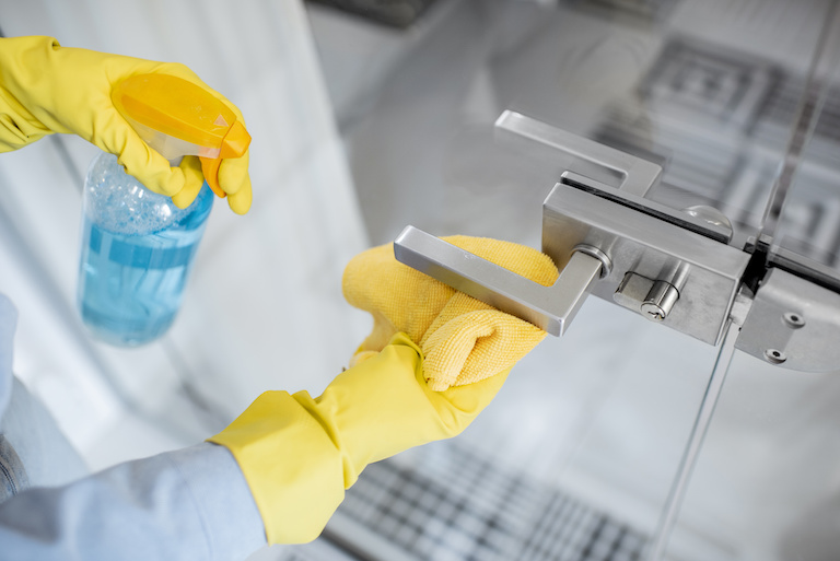 Most overlooked surfaces when cleaning